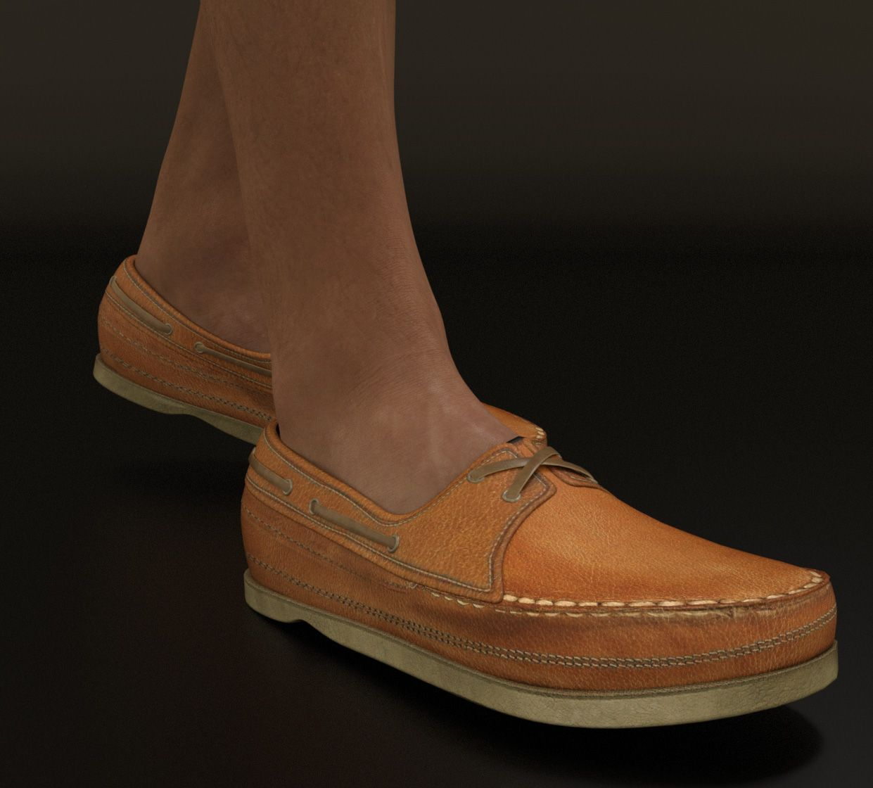the Casual Heat boat shoes