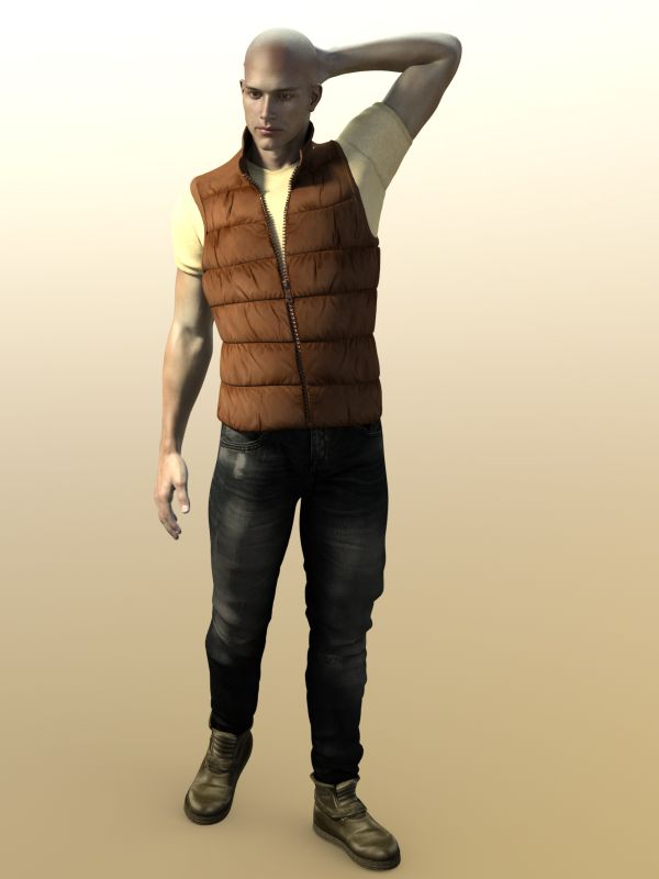 Urban Metro Outfit for Genesis 2 Males